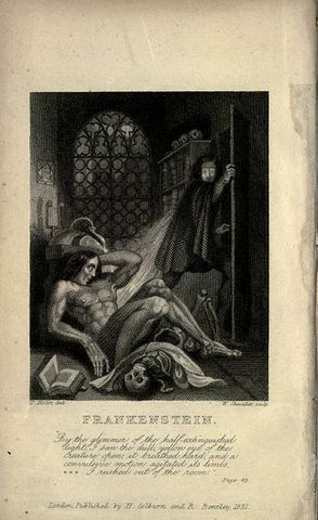 Publicación de Frankenstein