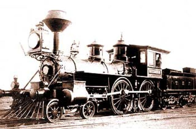 Primera linea ferrocarril Barcelona-Mataró