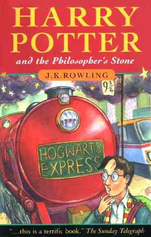 The first book, Harry Potter and the Philosopher's Stone