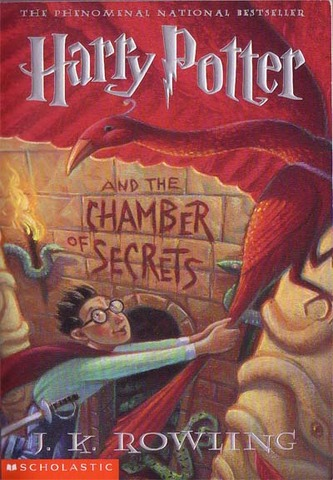 The second book, Harry Potter and the Chamber of Secrets