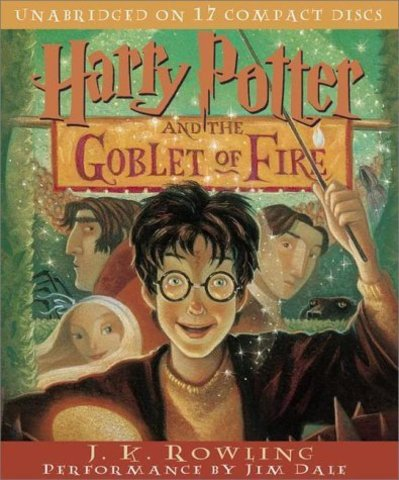 The fourth book, Harry Potter and the Goblet of Fire