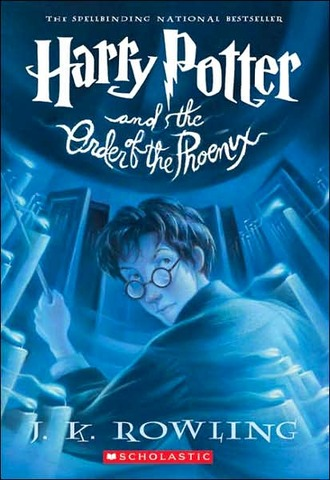 The fifth book, Harry Potter and the Order of the Phoenix
