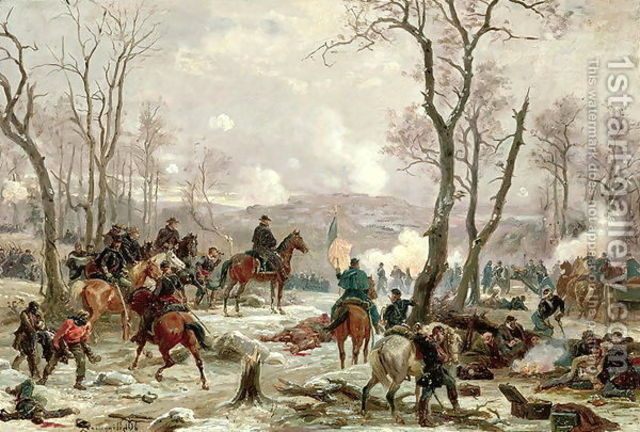 General Grant Captures Two Forts
