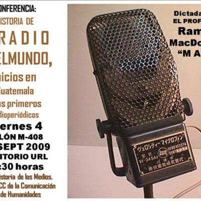 Historia de la Radio y la T.V timeline