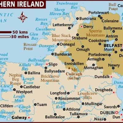 Famous People of Northern Ireland timeline