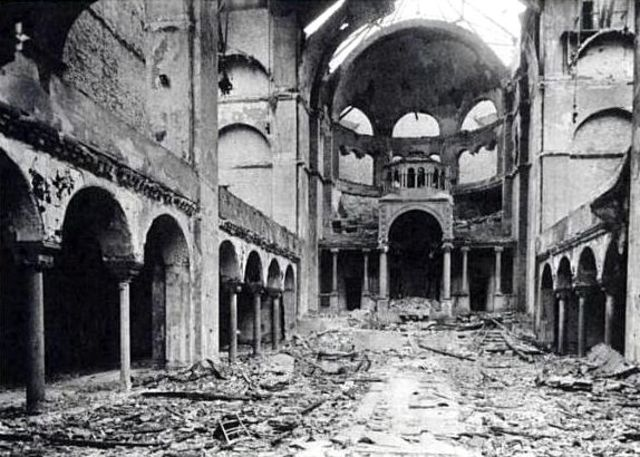 Kristallnacht is Carried Out in Germany and Austria