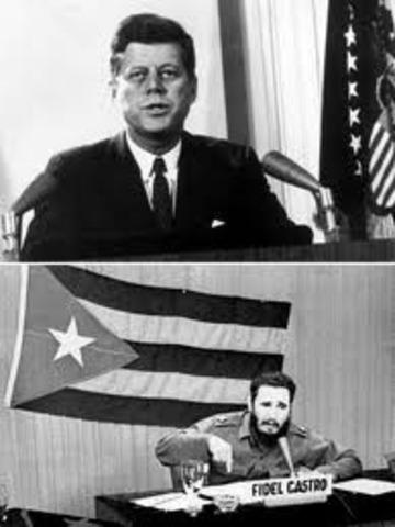 The Cuban Missile Crisis.