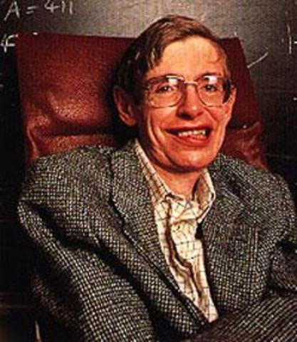 Nacimiento de Stephen Hawking en Oxford.