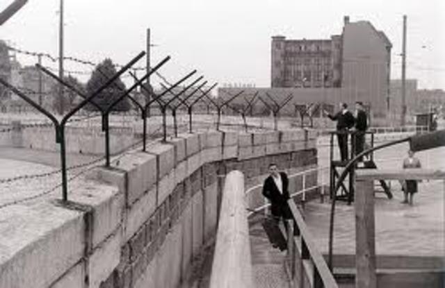 A Wall in Berlin.