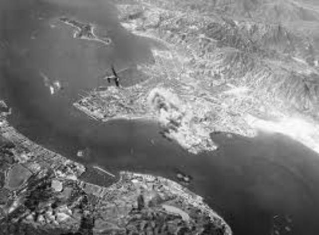Bombing of Japan.