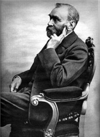 Alfred Nobel. 21/10/1833 - 10/12/1896