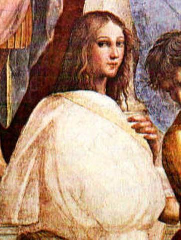 Hipatia. 370 - 415