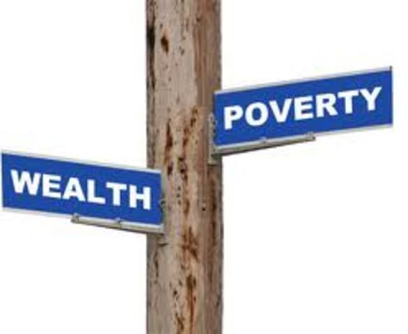 The Contrast Between Wealth and Poverty.