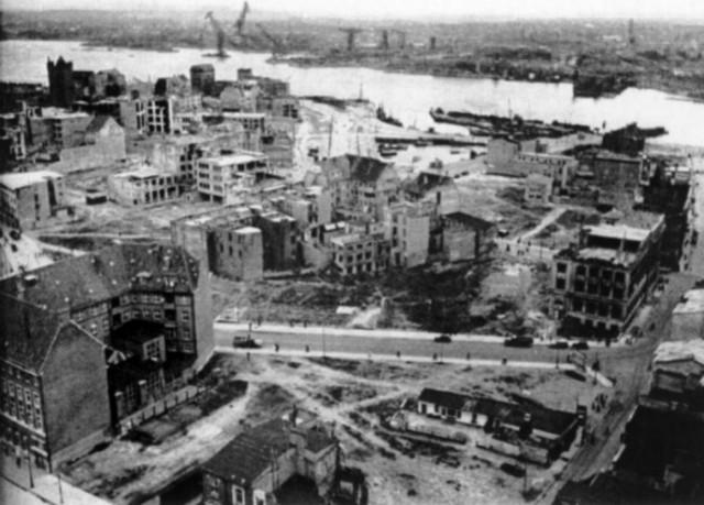 Bombing of cities: Germany