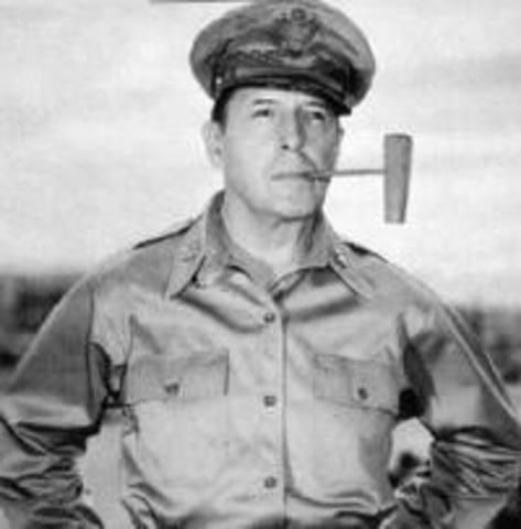 General MacArthur Fired