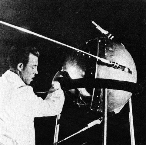 Soviet Union Launches Sputnik I.