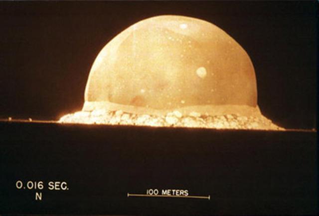 Testing the Atomic Bomb
