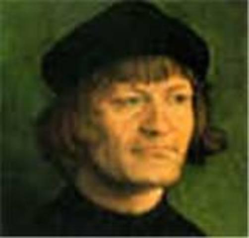 Zwingli leads Reformation in Switzerland