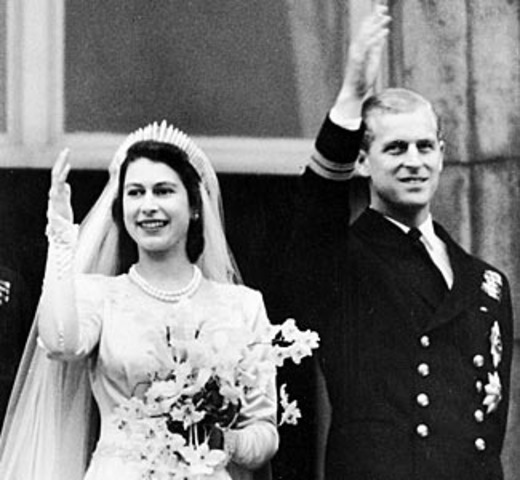 Elizabeth Marries Phillip