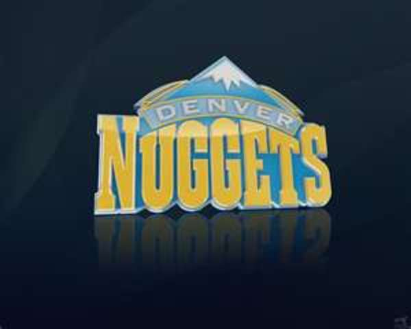 Drafted number three by the Denver Nuggets