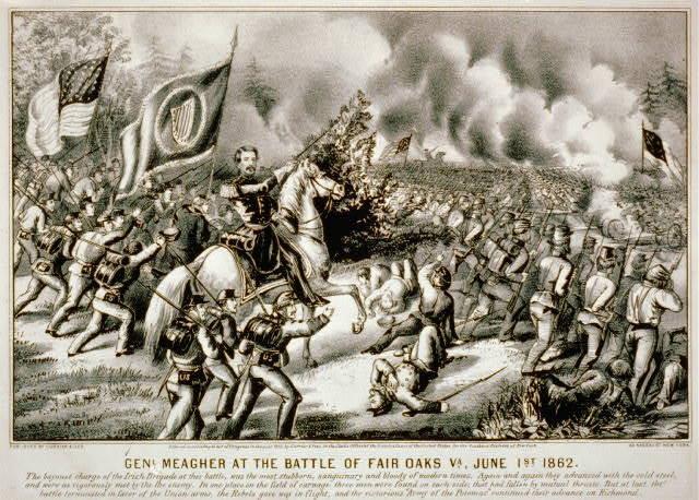 Confederates Win Battle of Seven Pines