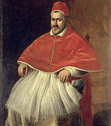 Pope Paul  IV orders Jews to live in Ghetto