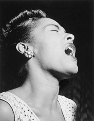 Billie Holiday was born