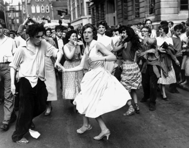 Rock n' Roll fans under the age of 18 in Cleveland, Ohio were banned from dancing in public