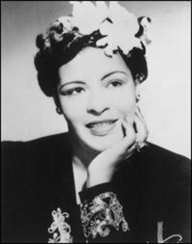 A Philadelphia court sentenced Jazz singer Billie Holiday to a year's probation after being found guilty of narcotics possession
