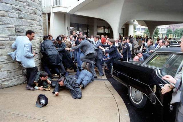 Attempt Assasination On President Ronald Reagon.
