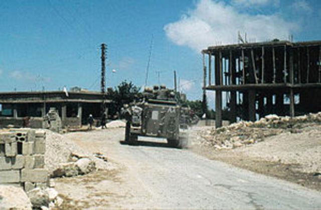 First Lebanon War