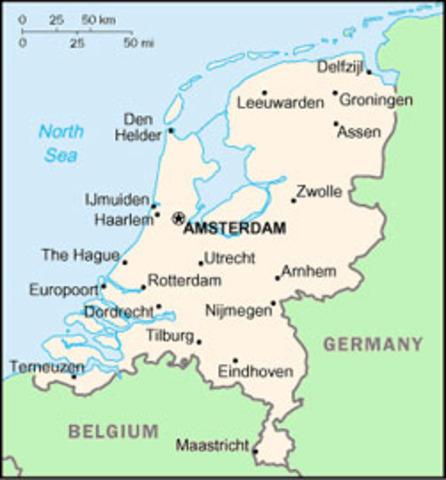 Truce in Netherlands declared