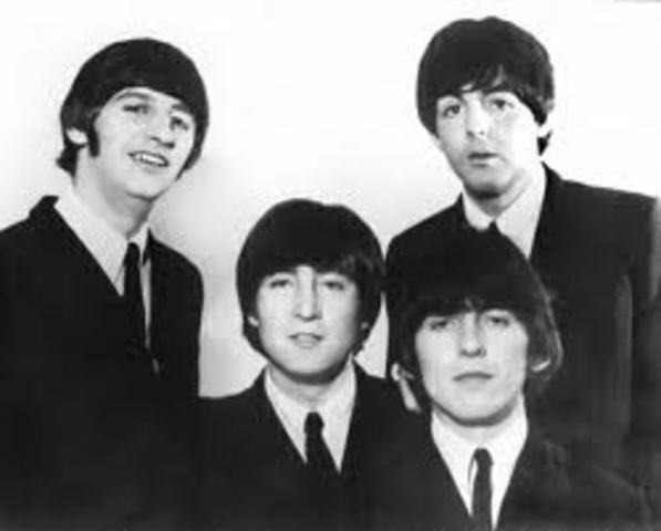 The Beatles hold the top five chart positions simultaneously