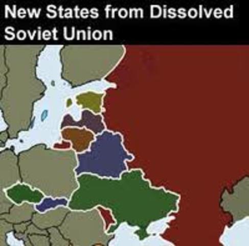 U.S.S.R. dissolves