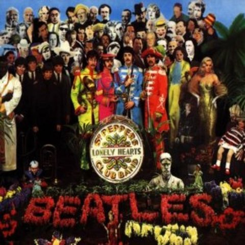 """The Beatles released """"Sgt. Pepper's Lonely Hearts Club Band"""""""