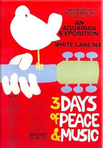 Woodstock Music Festival starts