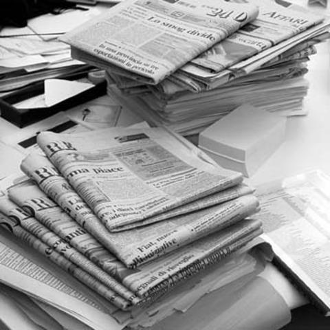 Inicio del Periodismo