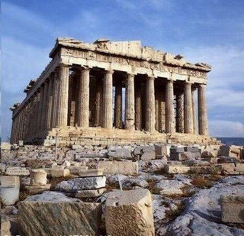 Época arcaica entre el 800 a.c.