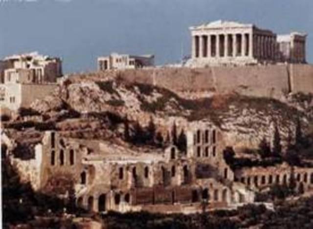 800 a.c A lo largo del periodo arcaico.