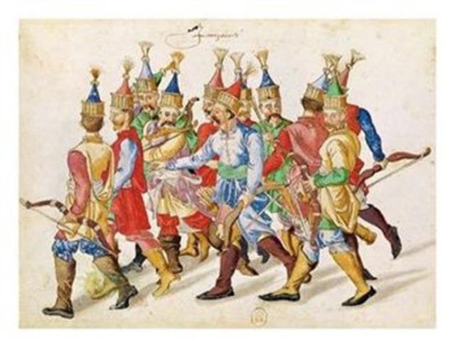 Janissaries massacred Christians in Serbia