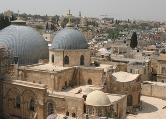 France named protector of the Holy Sepulcre