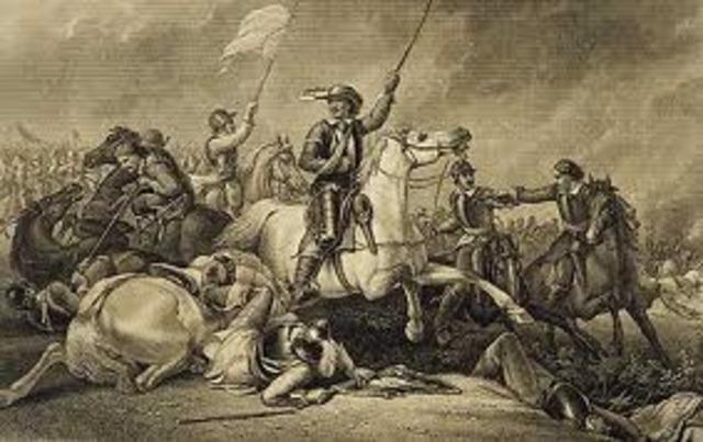 Primera guerra civil inglesa (1642–1645)