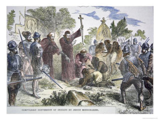1568 Jesuit missionaries established a school for Native American children in Havana, Florida