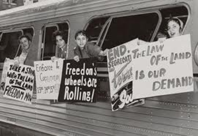 Sit-In Movement/Freedom Rides