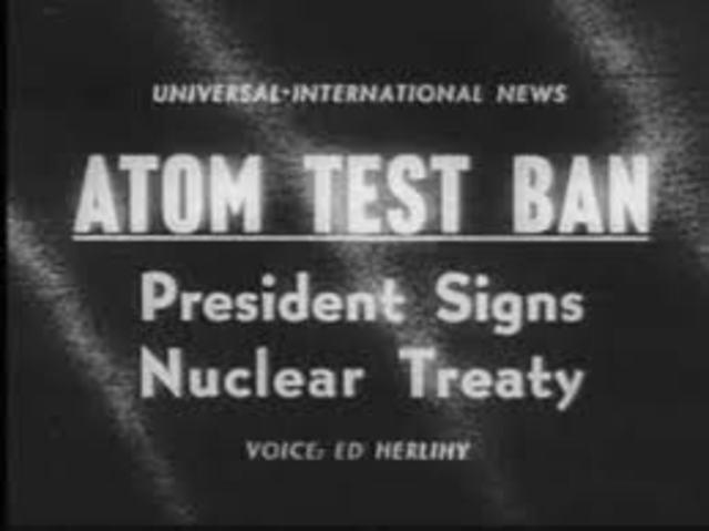Limited Nuclear Test Ban Treaty