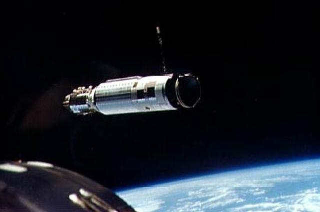 Two Spacecraft Dock for the First Time