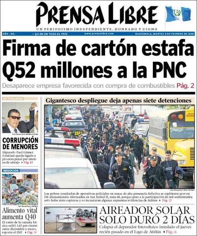 Fundación de Prensa Libre