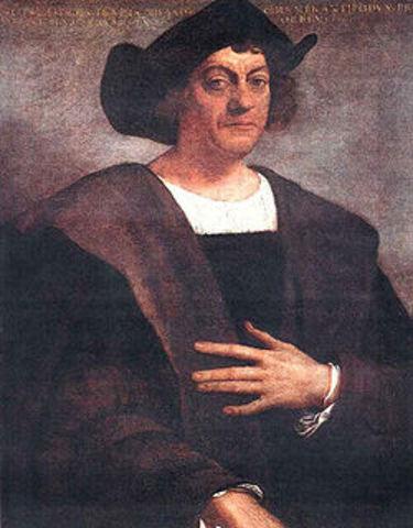 Columbus kommer till västindien