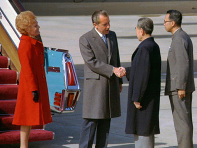 Nixon travels to the republic of china