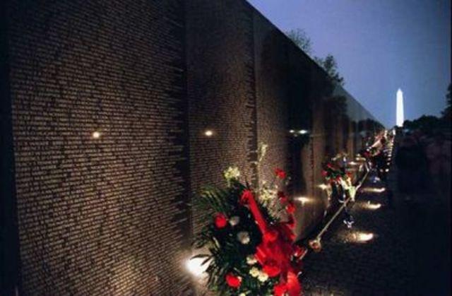 Vietnam War Memorial Opened in Washington, DC